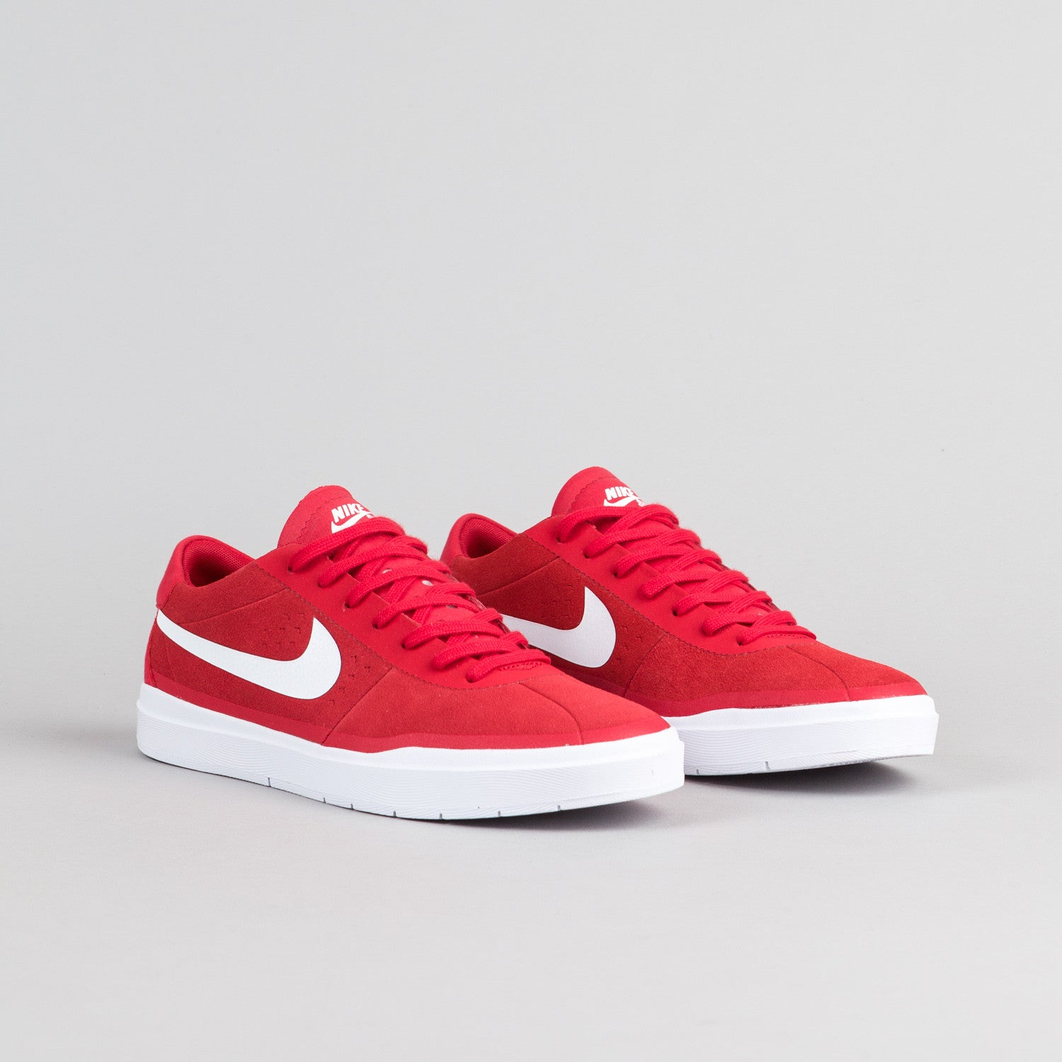 Nike SB Bruin Hyperfeel Shoes - University Red / White - Black - White