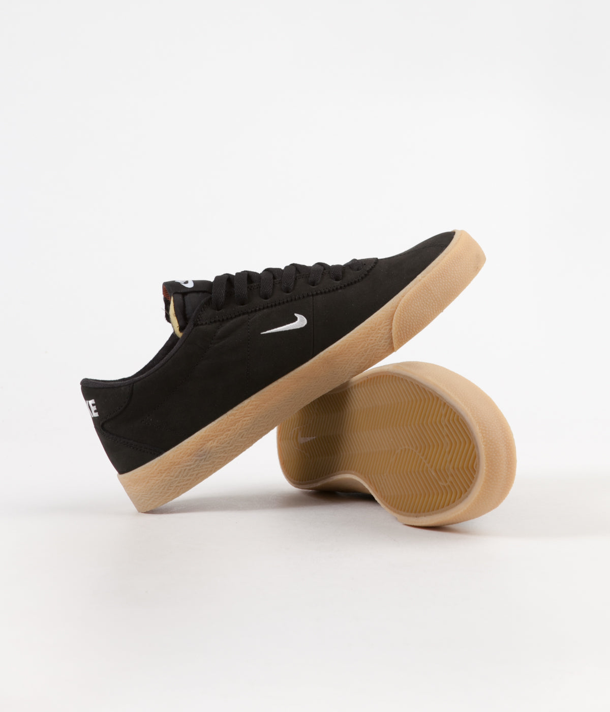 online retailer 156f2 12824 ... Nike SB Orange Label Bruin Ultra Shoes - Black   White - Safety Orange  ...