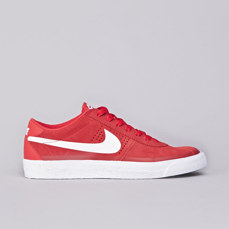 Nike SB Bruin Premium Light Crimson / White