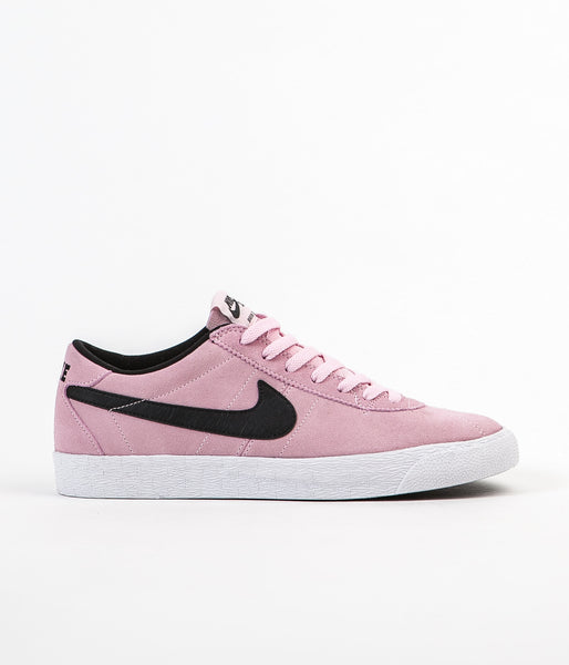 Nike SB Bruin Premium SE Shoes - Prism Pink / Black - White