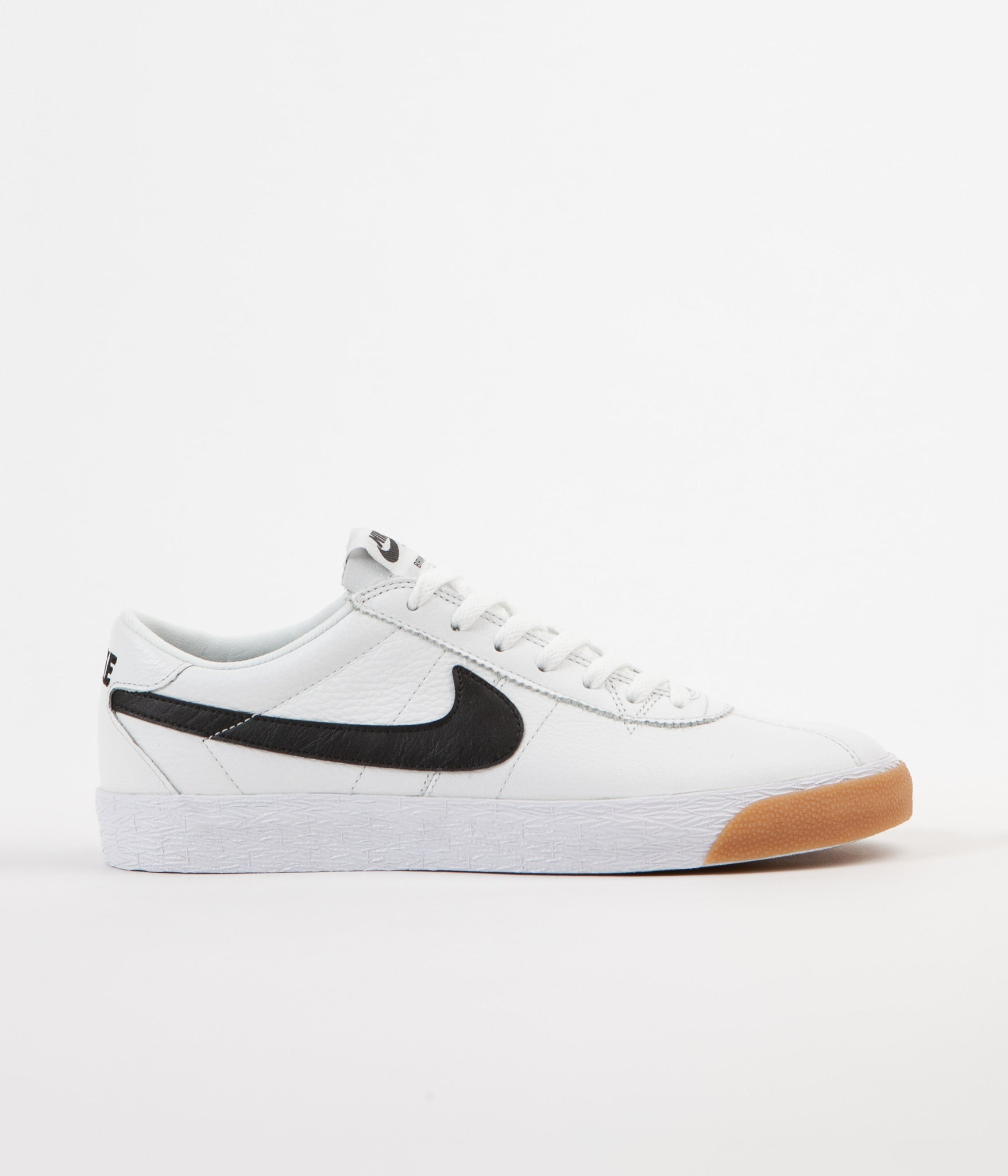 new arrival 6b856 9f307 Nike SB Bruin Premium SE Shoes - Summit White  Black - White