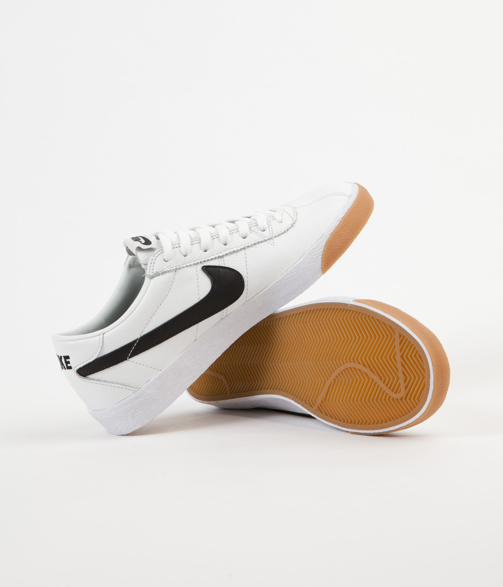 Nike SB Bruin Premium SE Shoes - Summit White / Black - White