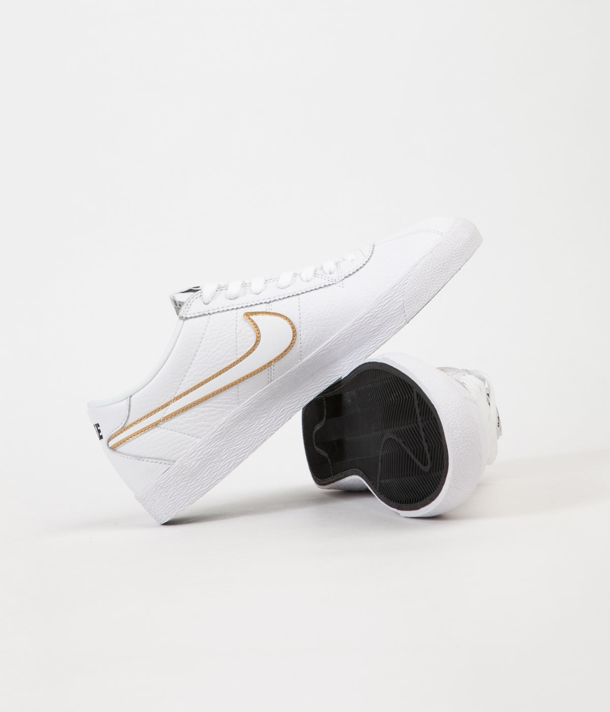 Rey Lear temperamento patio  Nike SB Bruin Premium SE Shoes - White / White - Metallic Gold - Black |  Flatspot