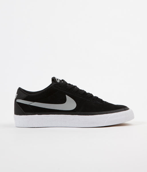 Nike SB Bruin Premium Shoes - Black / Base Grey - White