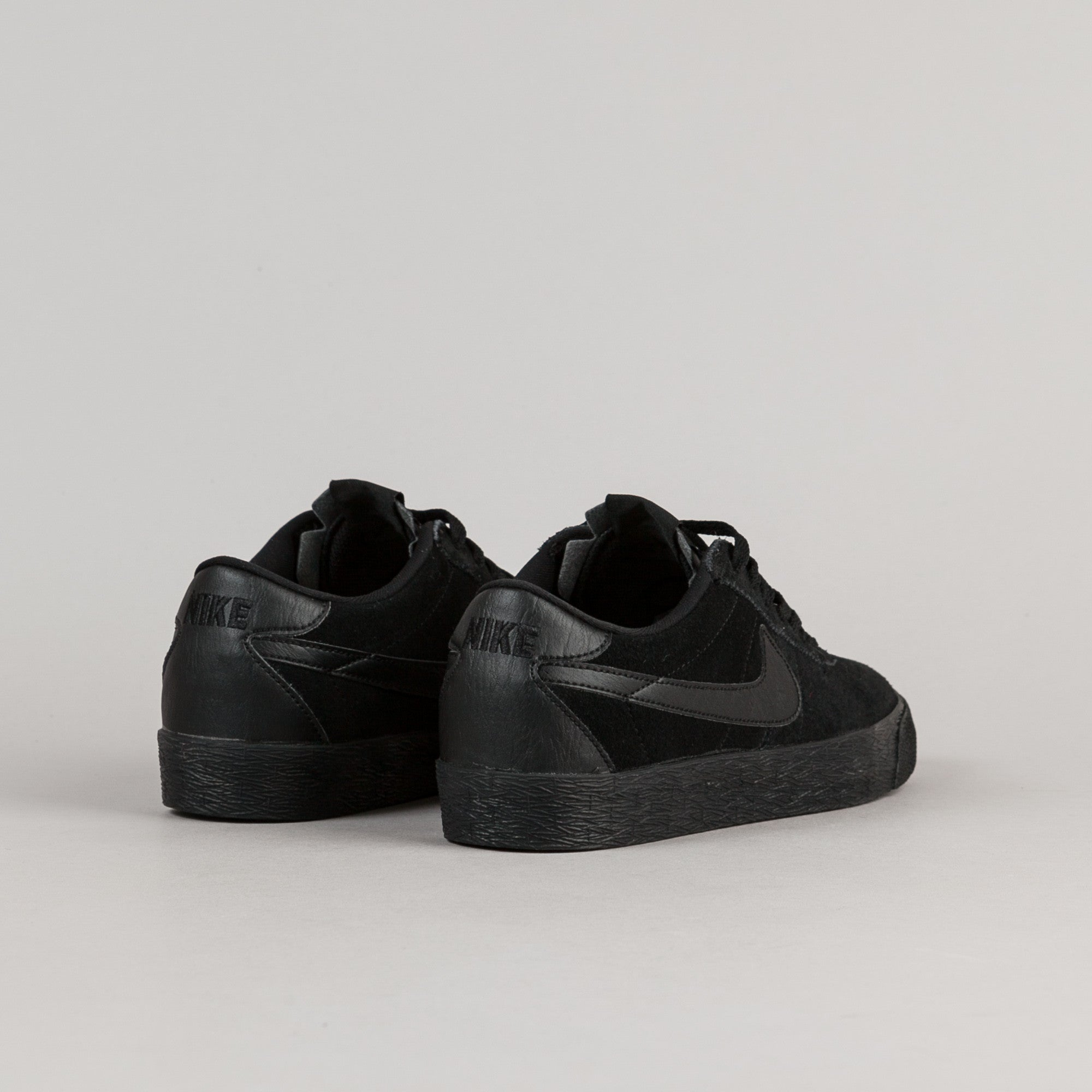 Nike SB Bruin Premium Shoes - Black / Black - Anthracite - Black