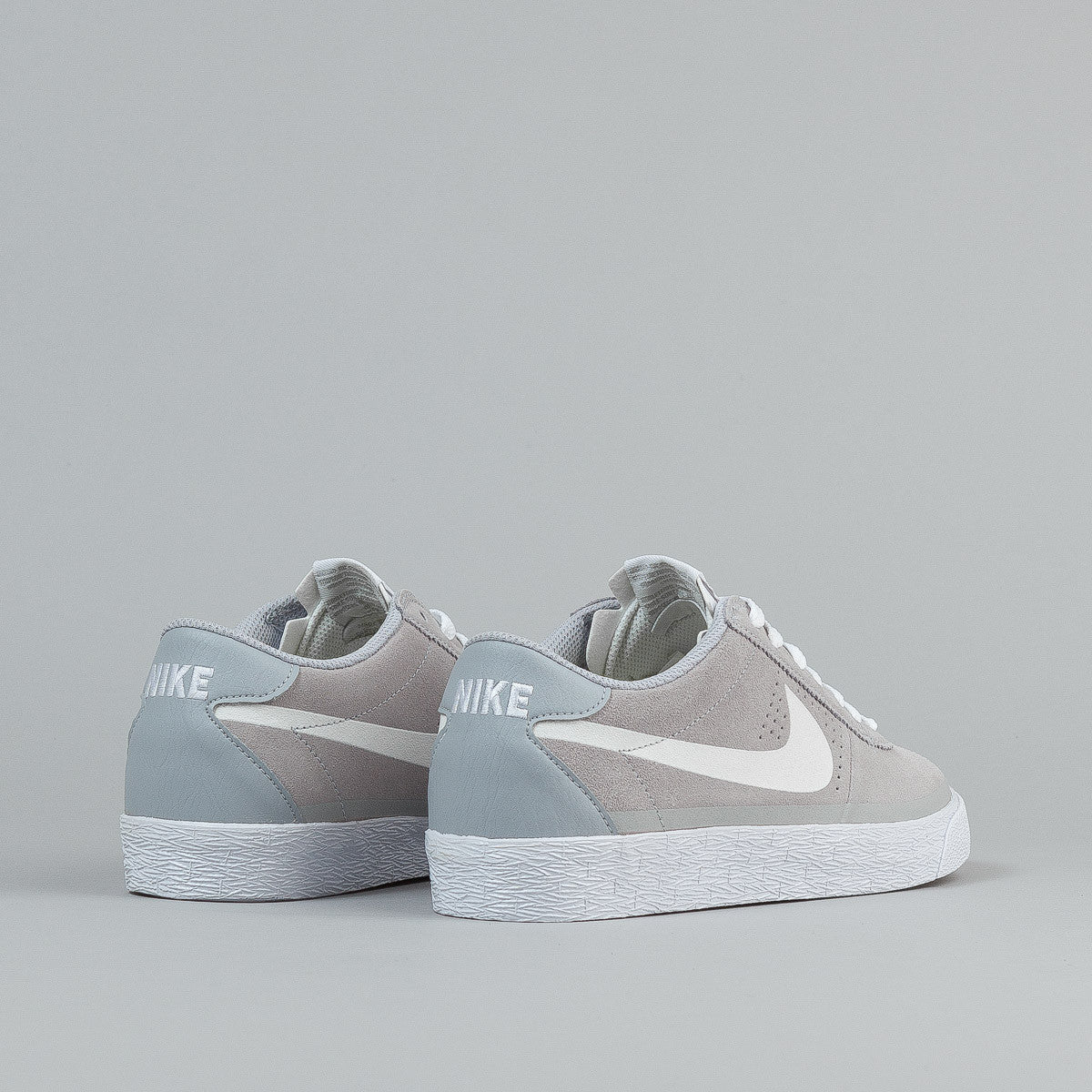 Nike SB Bruin Premium Wolf Grey / White - Gum Light Brown