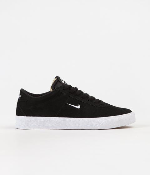 Nike SB Bruin Ultra Shoes - Black / White - Gum Light Brown