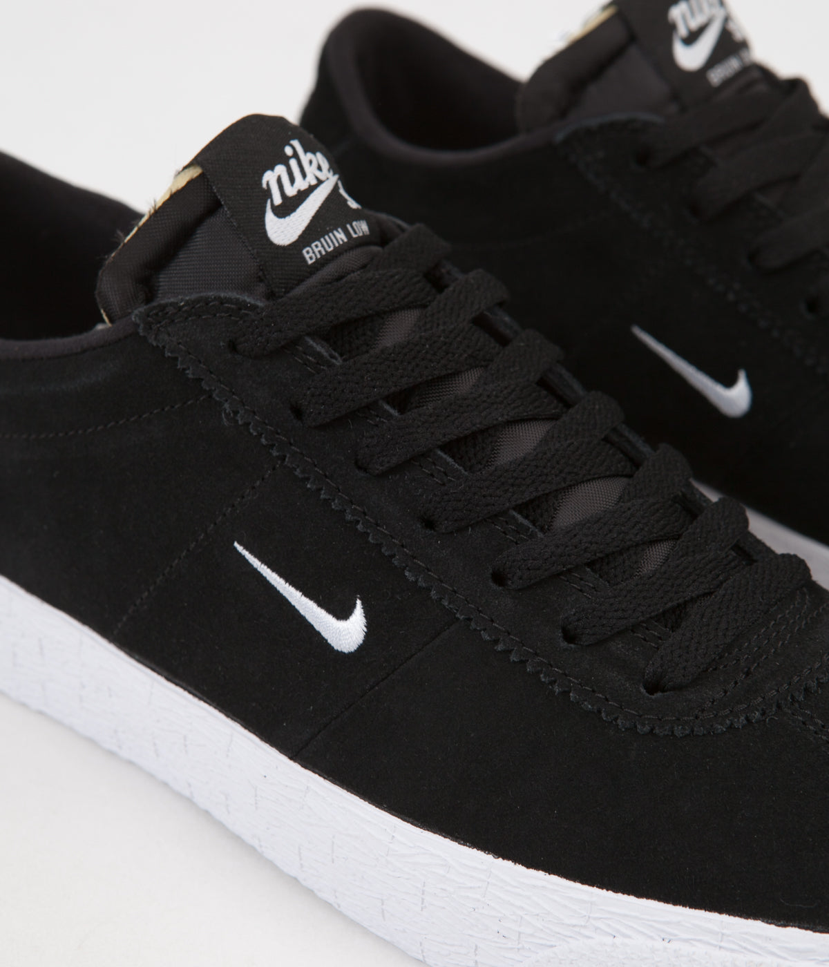 fantastic savings multiple colors reliable quality Nike SB Bruin Ultra Shoes - Black / White - Gum Light Brown ...