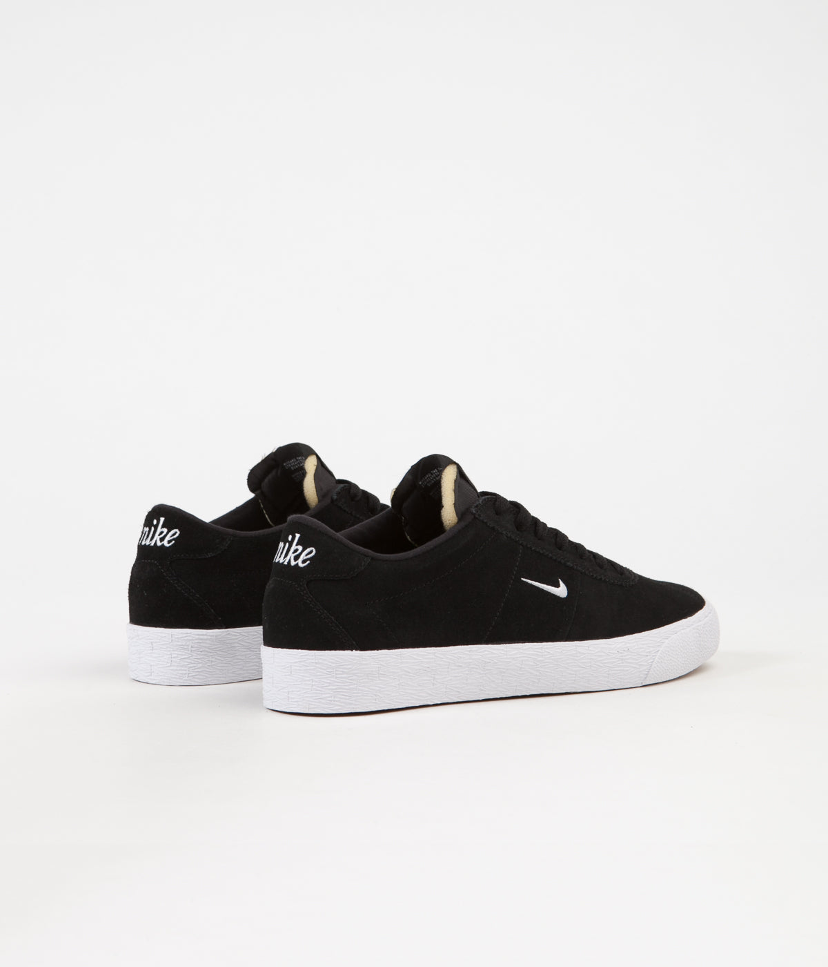 revendeur 6c17b 18bee Nike SB Bruin Ultra Shoes - Black / White - Gum Light Brown ...