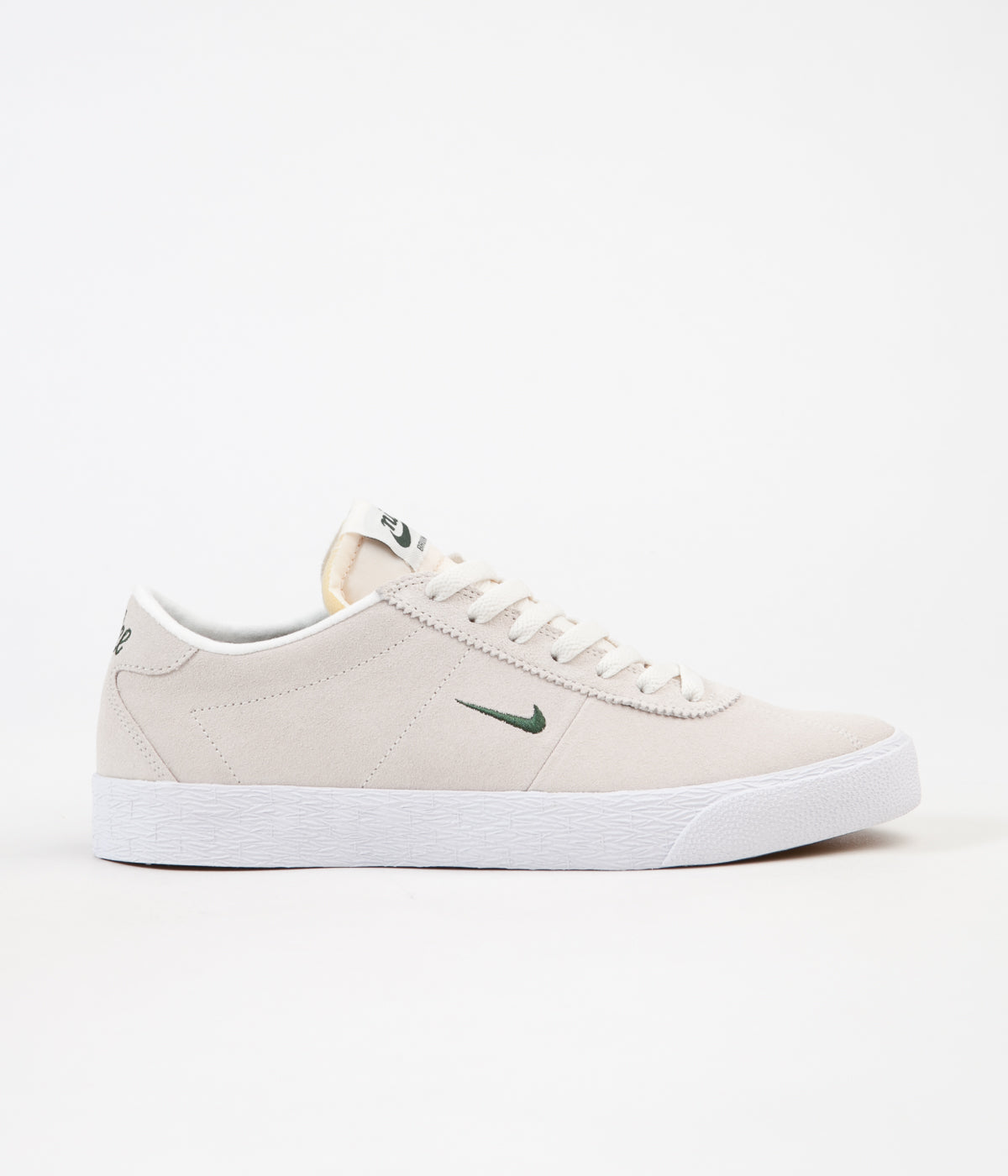 Nike SB Bruin Ultra Shoes - Sail / Fir - White - Gum Light Brown