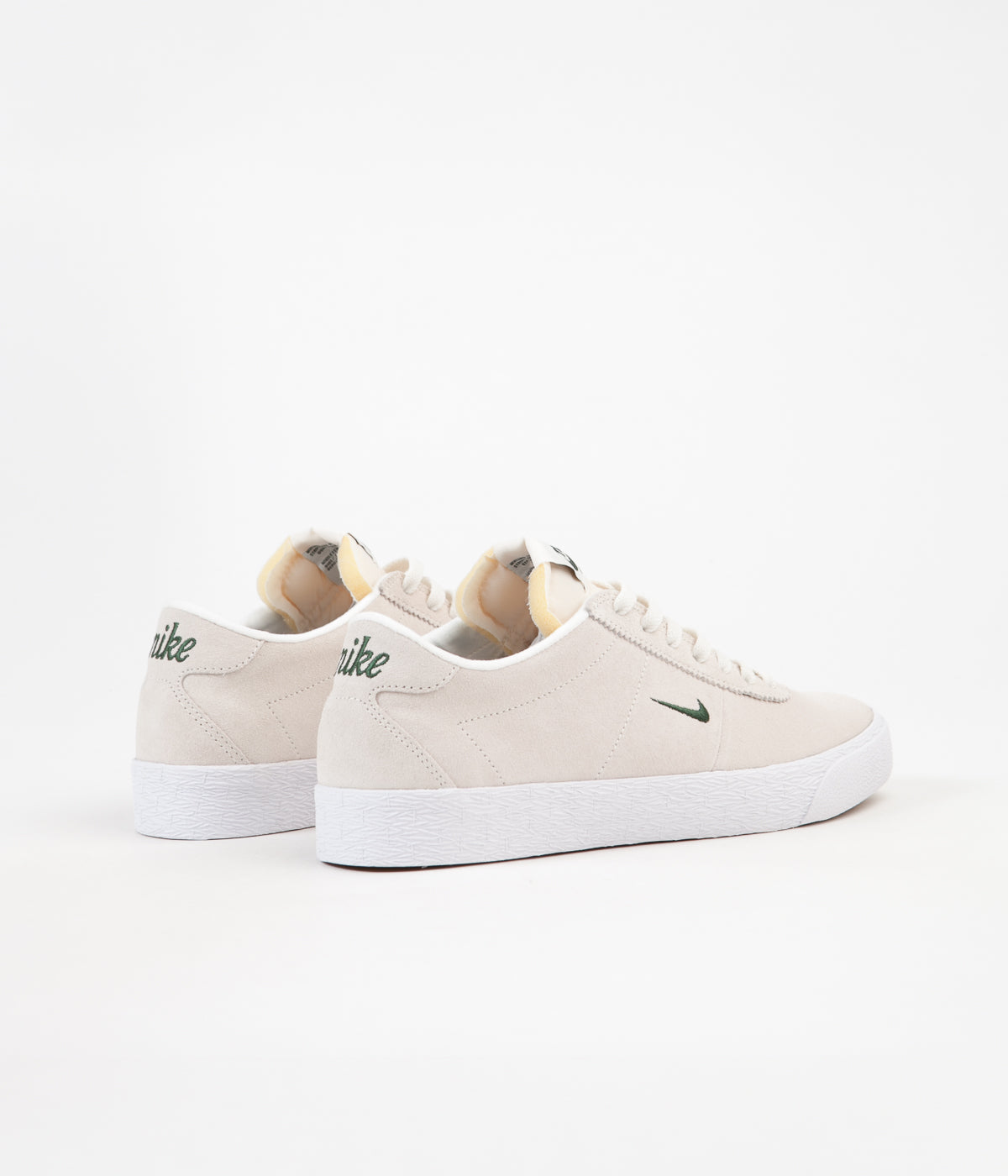 new lower prices various colors huge sale Nike SB Bruin Ultra Shoes - Sail / Fir - White - Gum Light ...