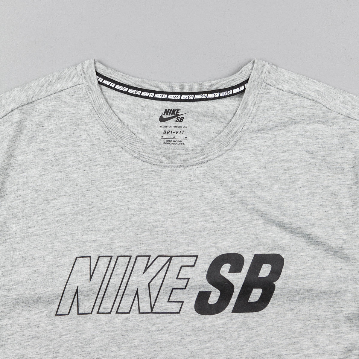 Nike SB Skyline Dri-FIT Cool T-Shirt - Dark Grey Heather / Dark Grey Heather / Black