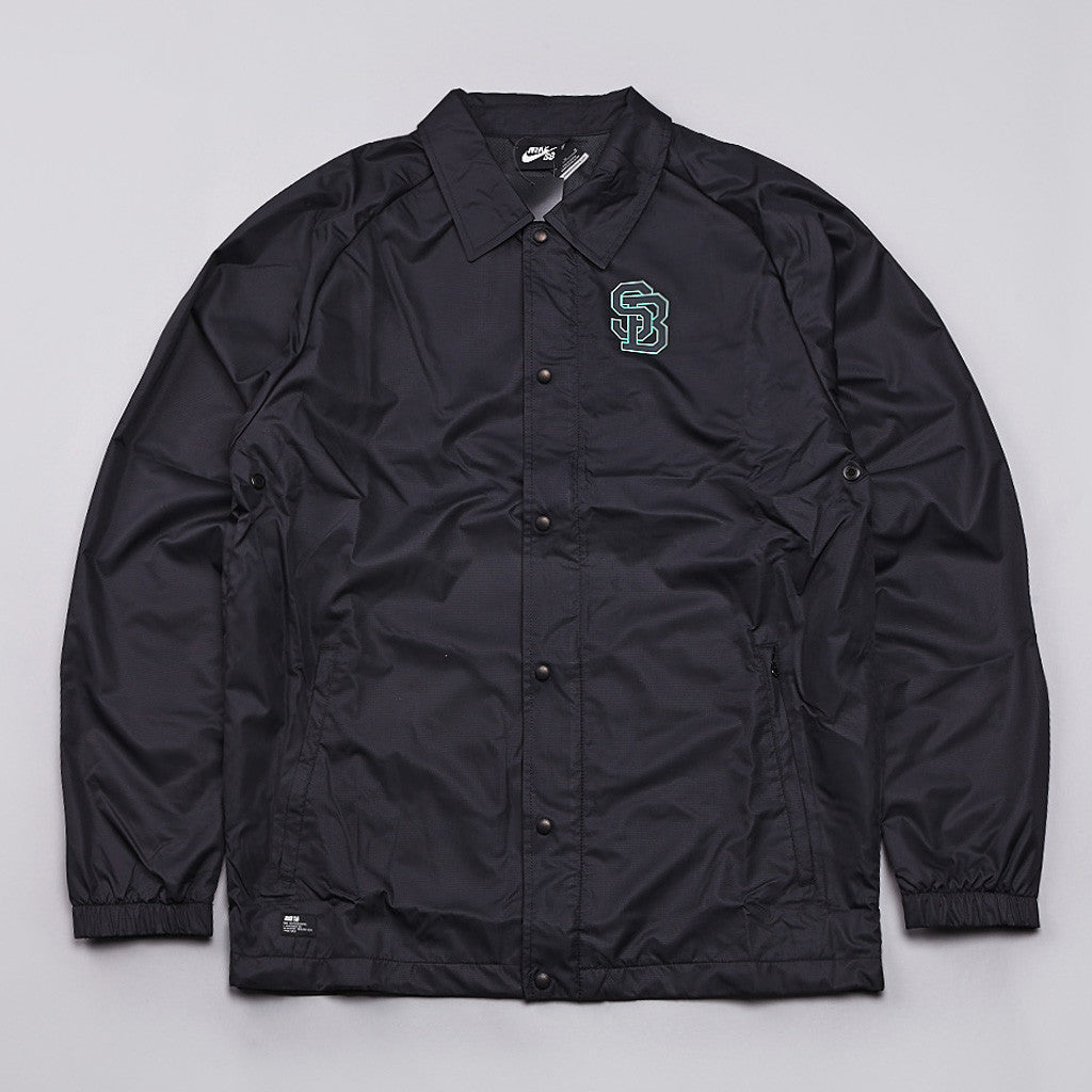 Nike SB Coaches Jacket Black / Anthracite