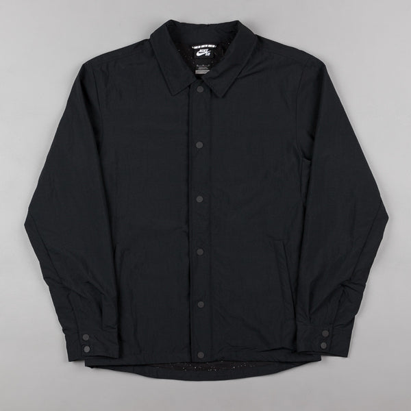 Nike SB Coaches Jacket - Black / White
