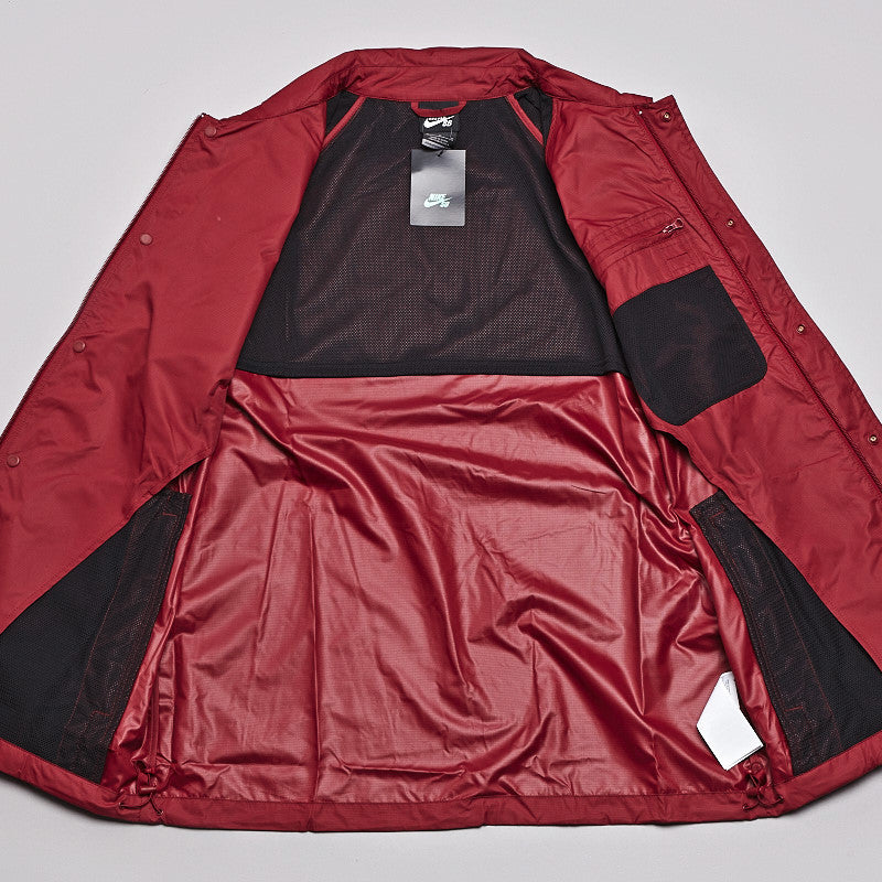 Nike SB Coaches Jacket Team Red / Black