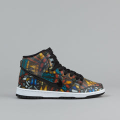 Nike SB x Concepts Dunk High QS Shoes