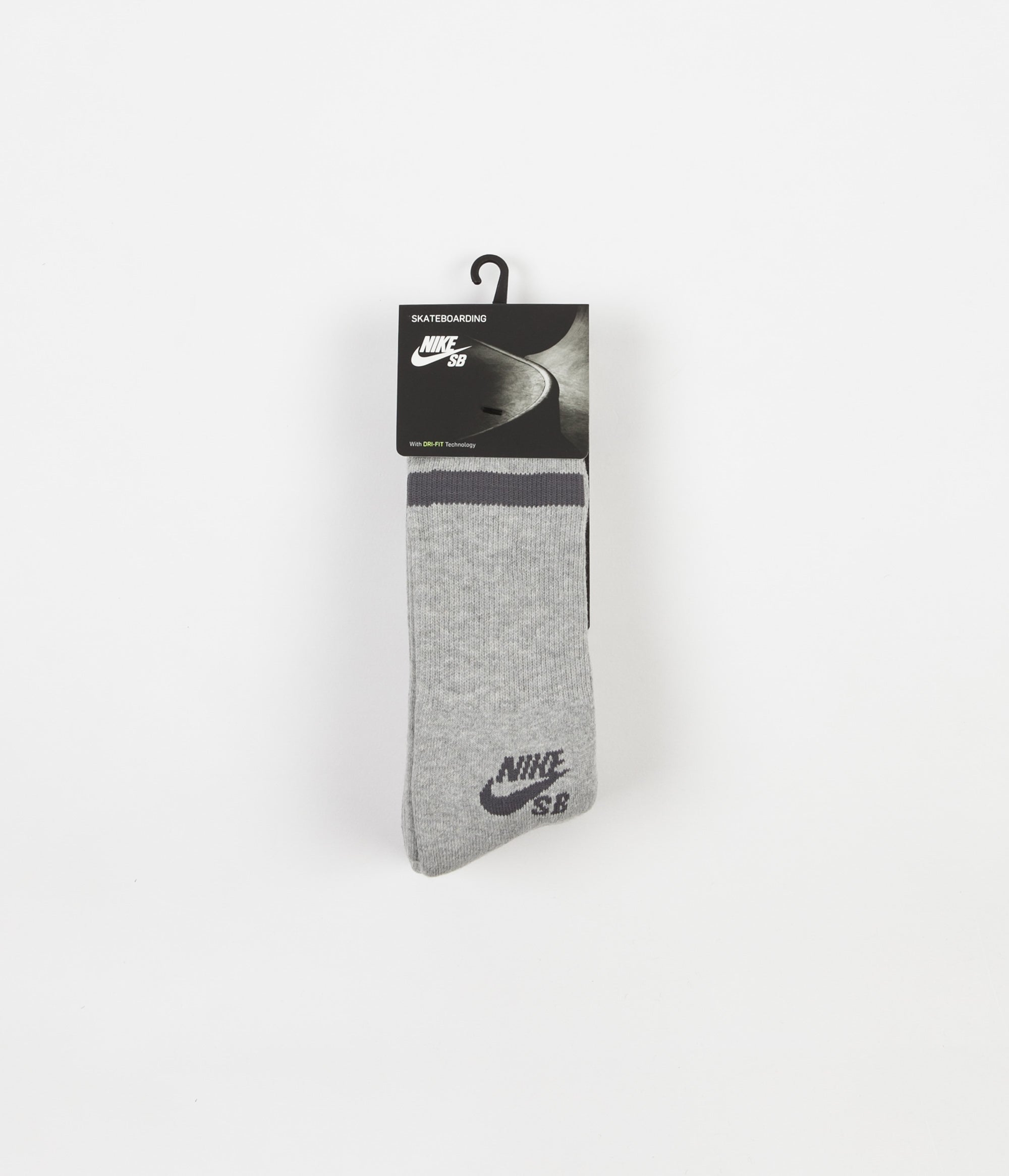 Nike SB Crew Socks (3 pair) - Dark Grey Heather