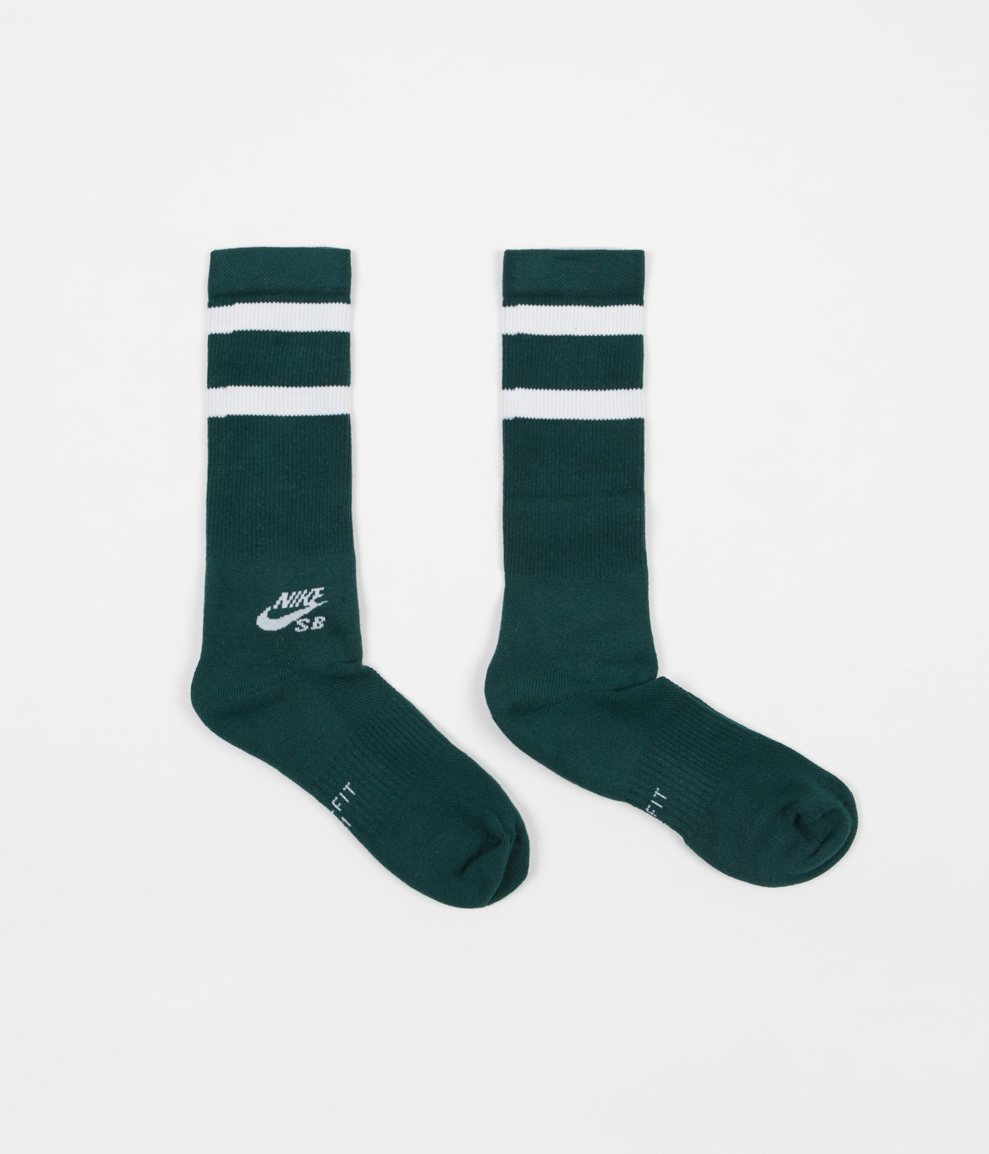 nike sb crew socks 3 pair teal white grey flatspot. Black Bedroom Furniture Sets. Home Design Ideas
