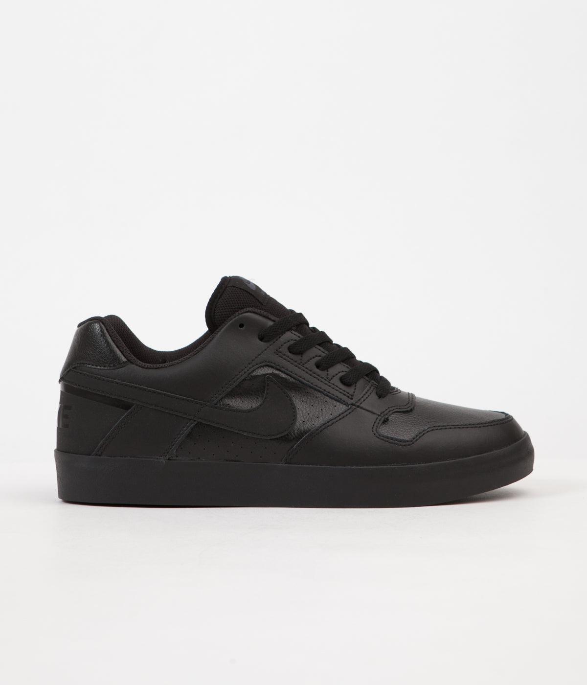 brand new 35393 3d7a7 Nike SB Delta Force Vulc Shoes - Black   Black - Anthracite