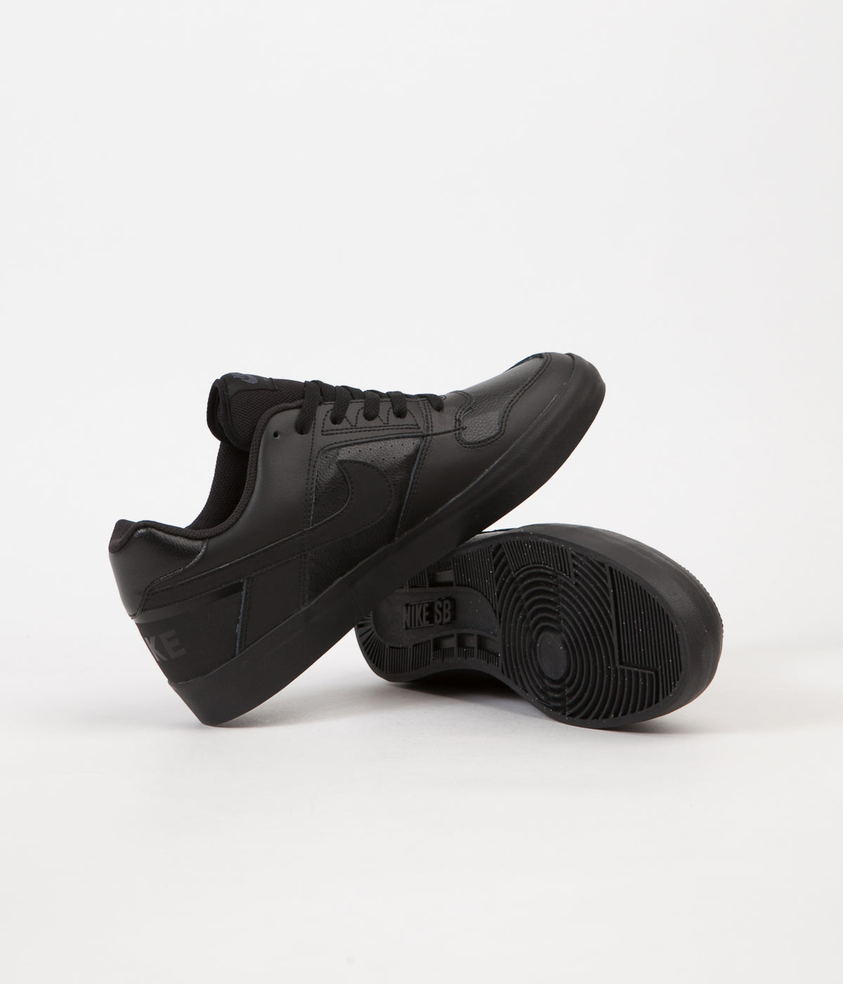 5ad3a76ffb4 ... Nike SB Delta Force Vulc Shoes - Black   Black - Anthracite ...