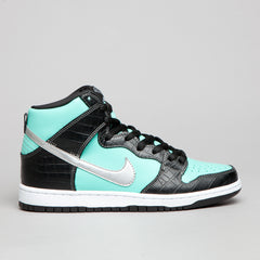 Nike SB Dunk High Premium Aqua / Chrome