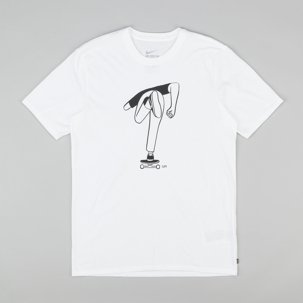Nike SB Dri-Fit GM Push T-Shirt - White