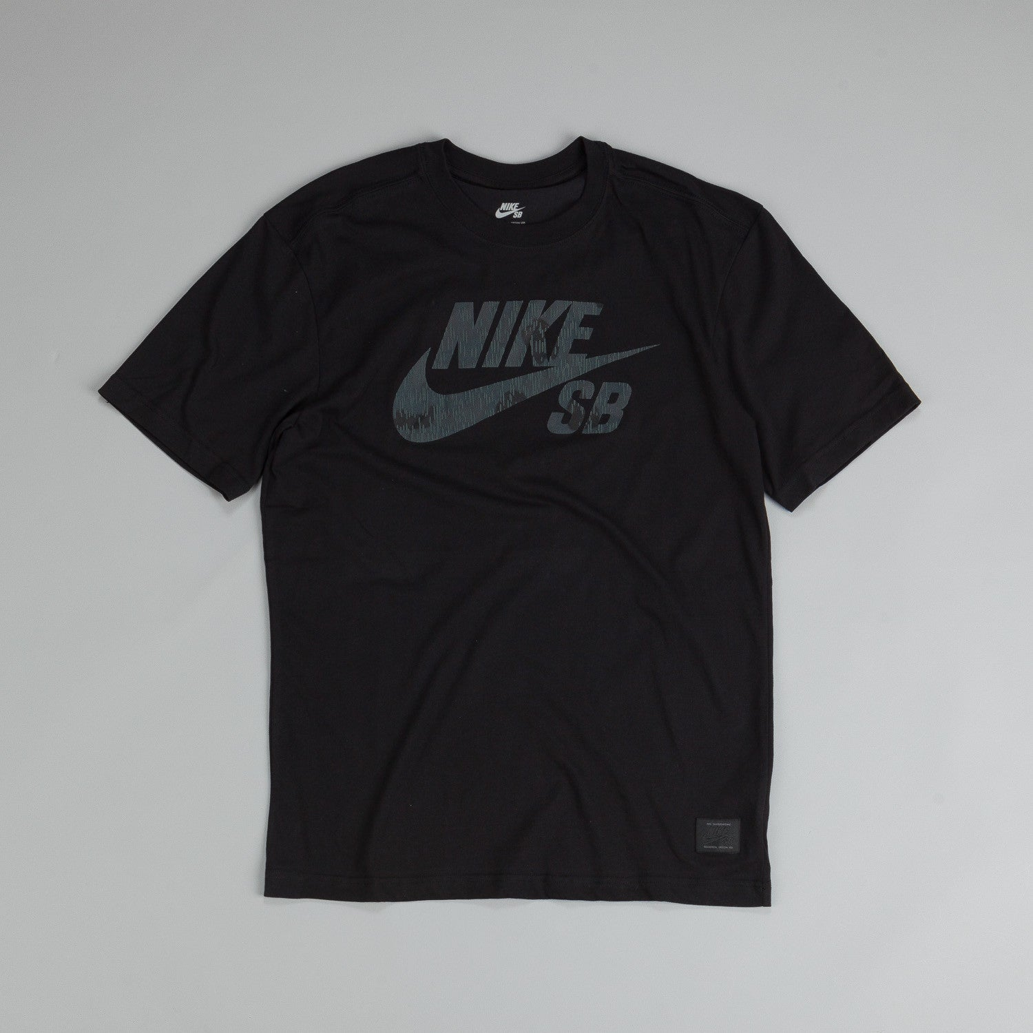 Nike SB Dri Fit Icon Marsh T Shirt Black / Seaweed