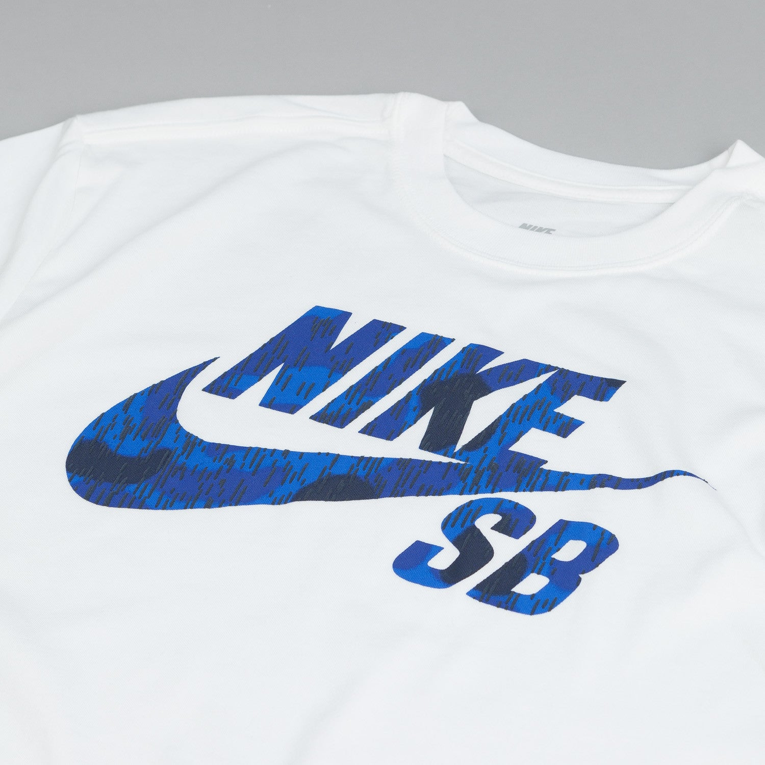 Nike SB Dri Fit Icon Marsh T Shirt White / Obsidian