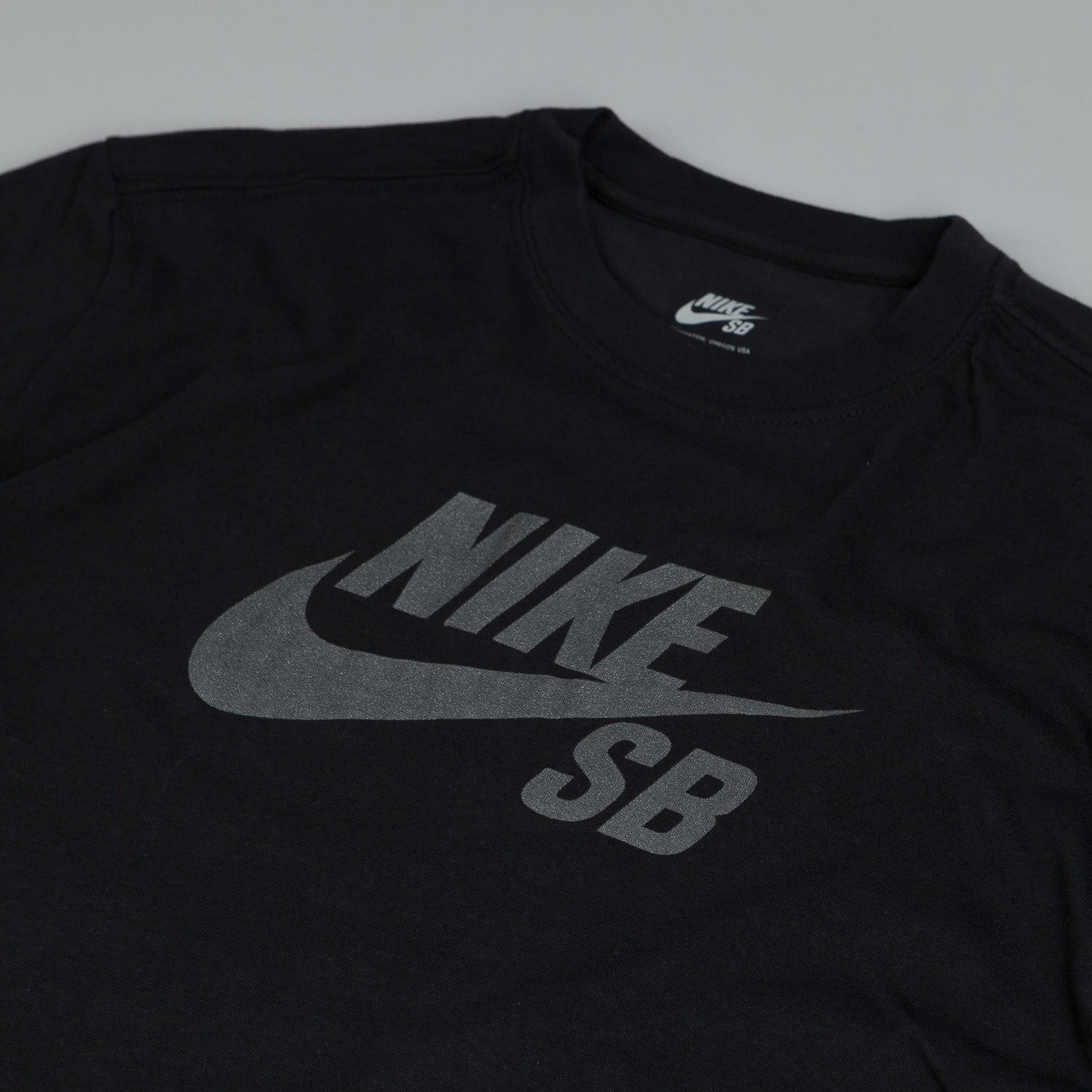 Nike SB Dri Fit Icon Reflective T Shirt Black