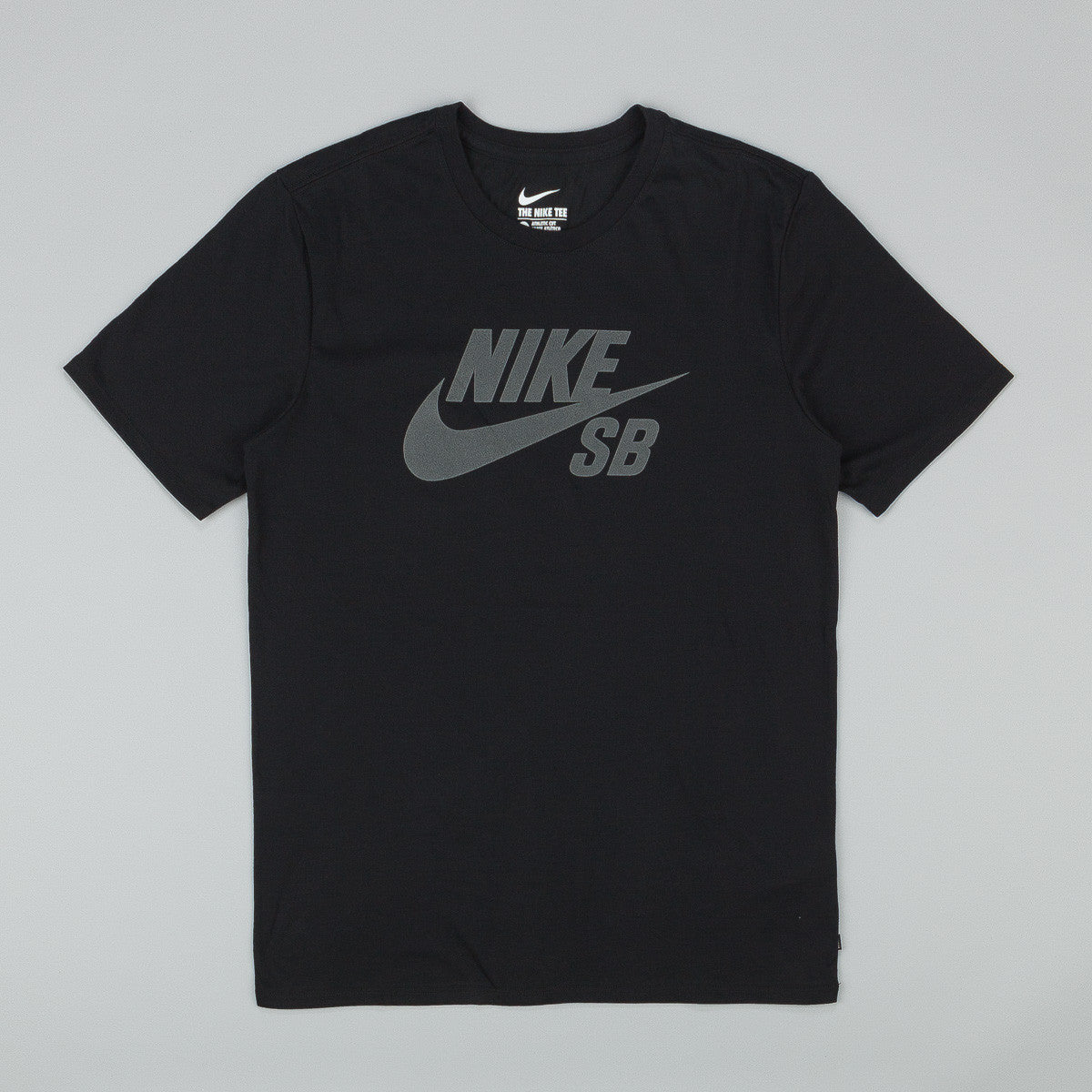 Nike SB Dri Fit Icon Reflective T-Shirt Black / Anthracite