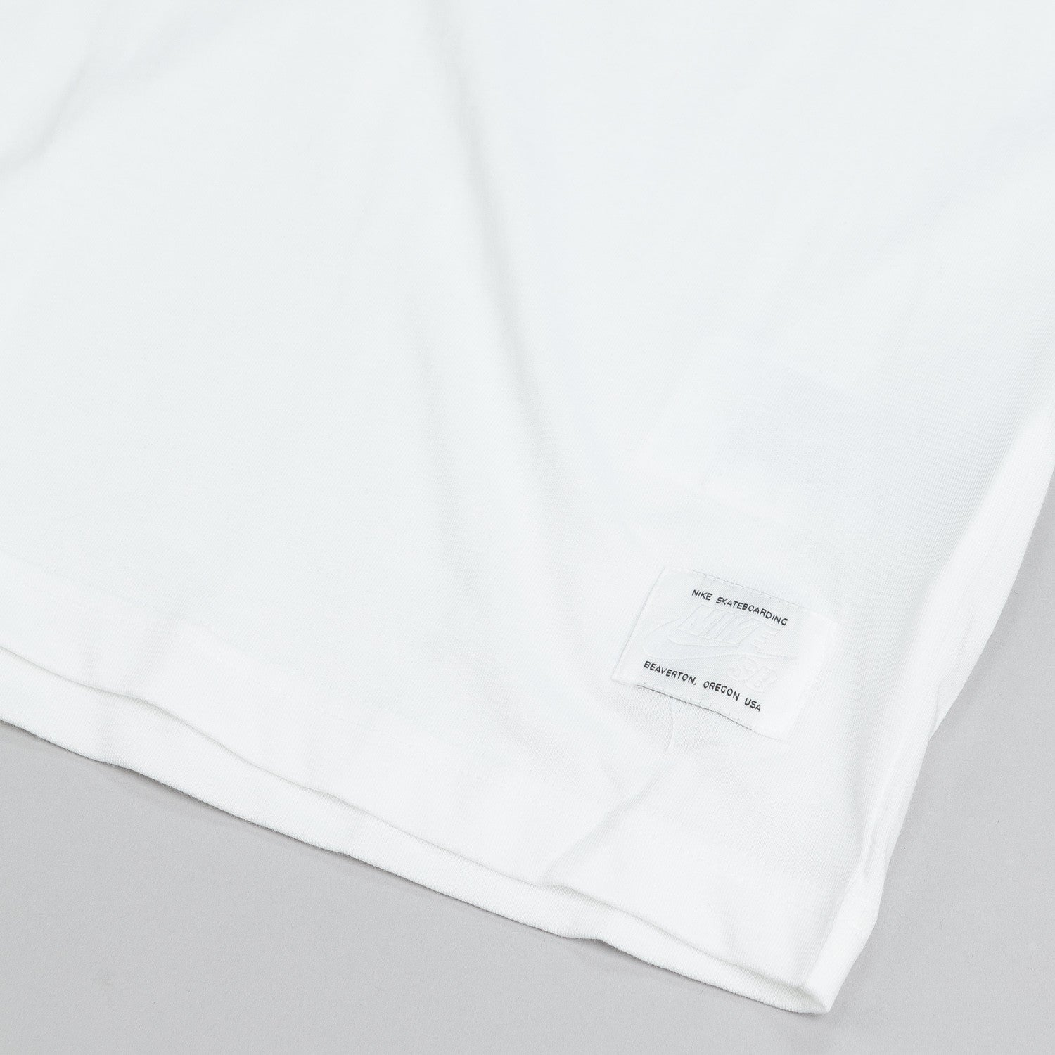 Nike SB Dri Fit Icon Reflective T Shirt White