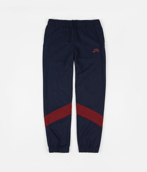 Nike SB Dri-FIT Icon Track Pants - Obsidian / Team Red / Obsidian / Team Red