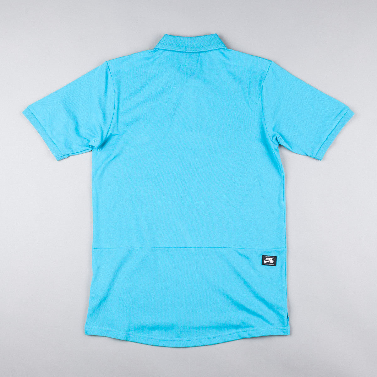 Nike SB Dri-Fit Pique Polo Shirt - Omega Blue / White
