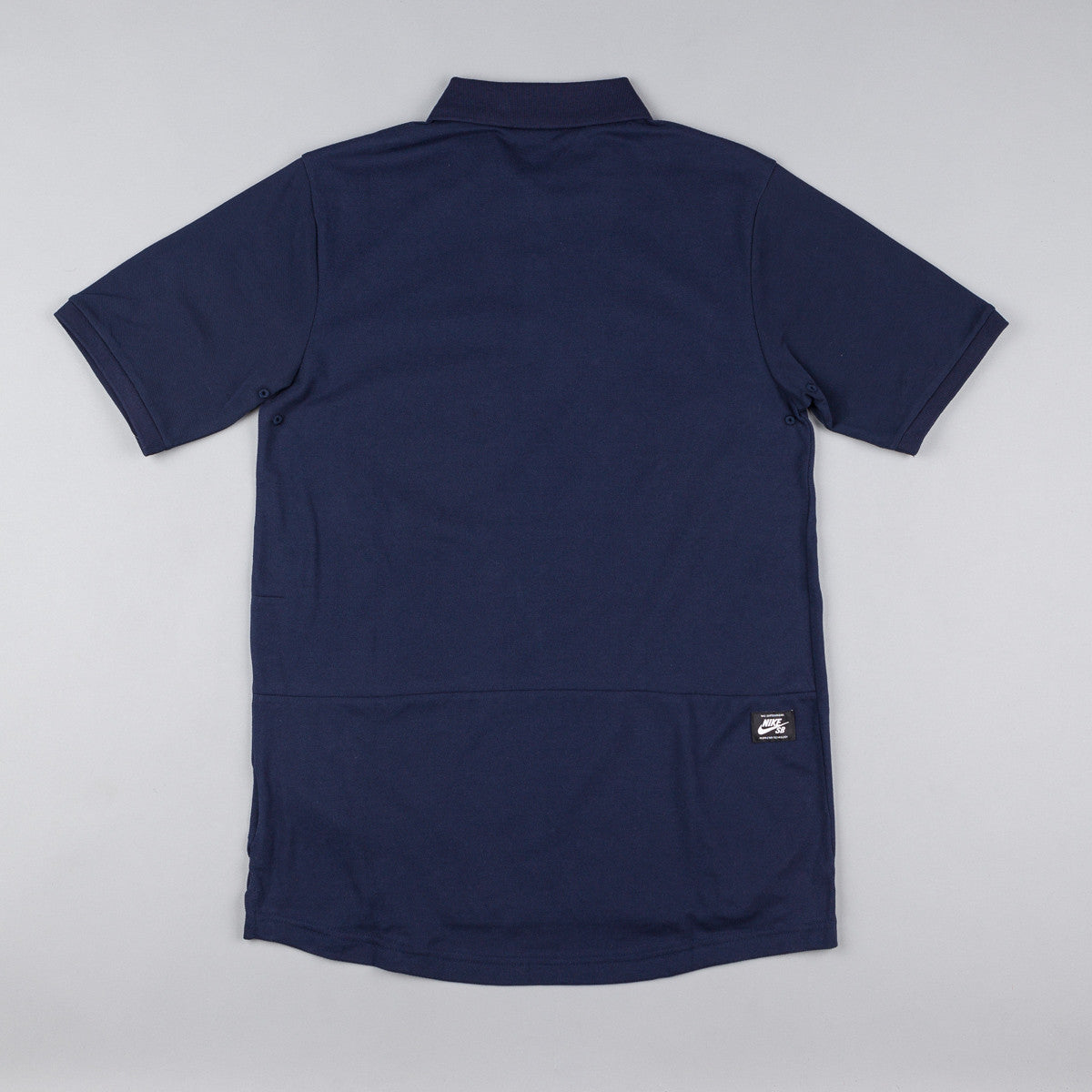 Nike SB Dri-Fit Pique Polo Shirt - Obsidian / White