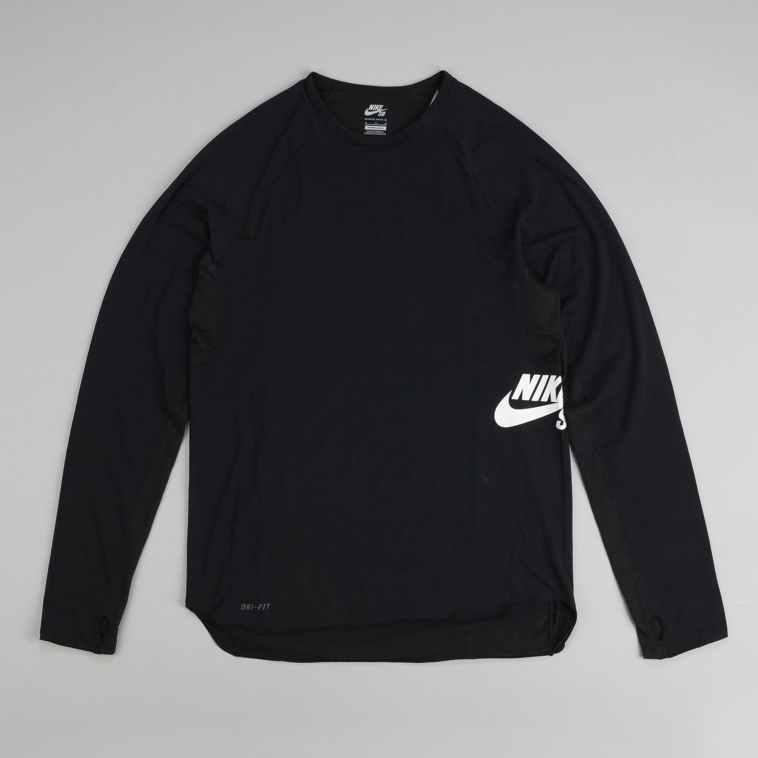 Nike SB Dri-Fit Skyline Block Crew Long Sleeve T-Shirt