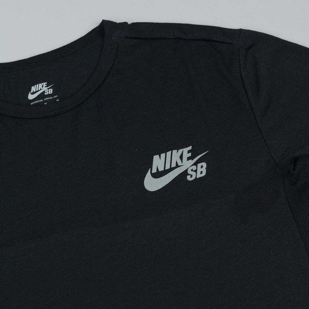 Nike SB Dri-Fit Skyline Cool T-Shirt - Black / Reflective