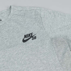 Nike SB Dri-Fit Skyline Cool T-Shirt - Dark Grey Heather / Black