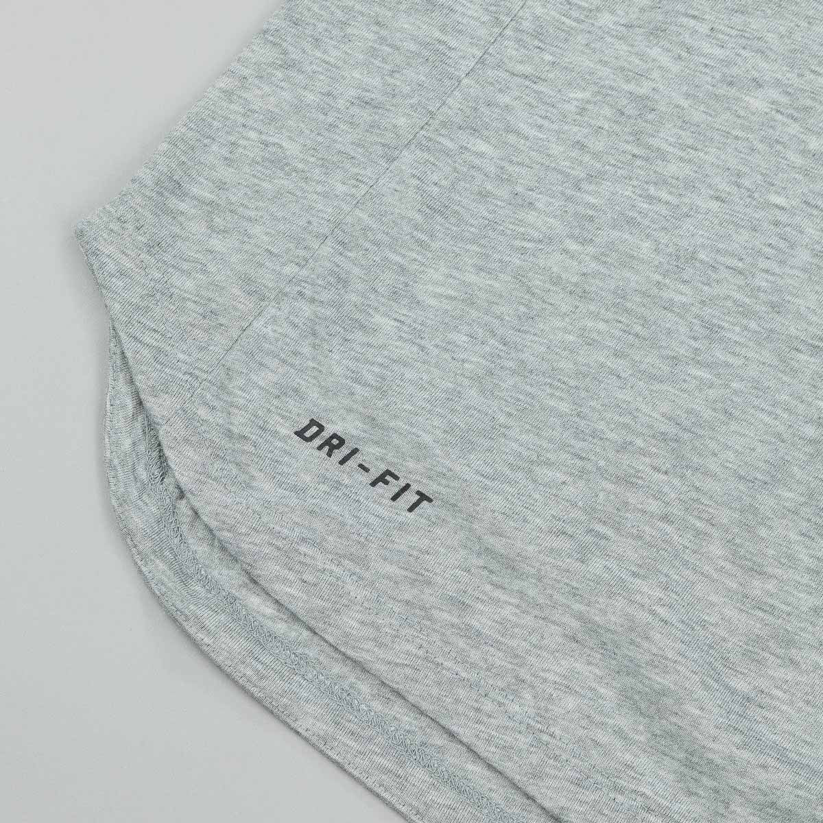Nike SB Dri-Fit Skyline Cool T-Shirt - Dark Grey Heather / Reflective