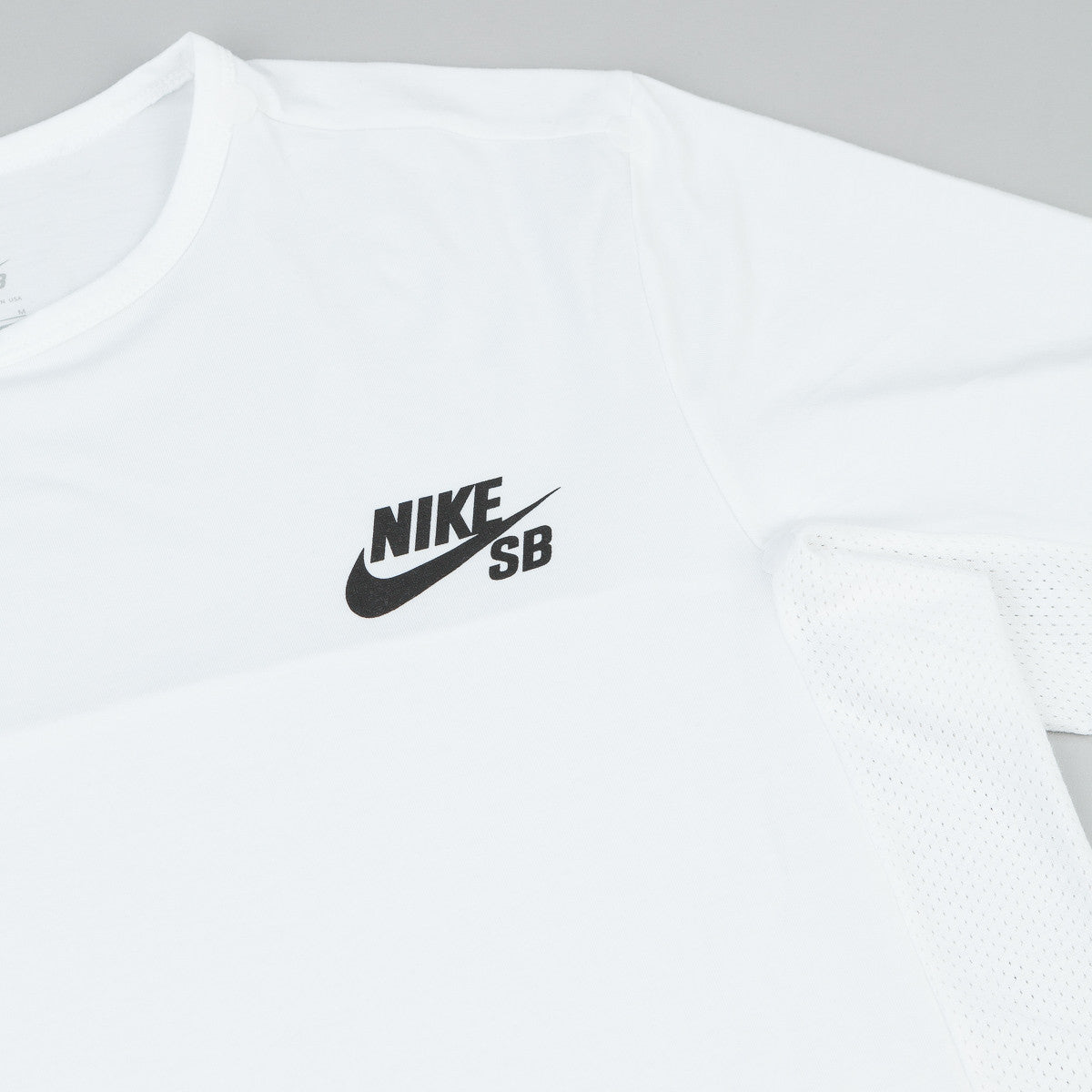 Nike SB Dri-Fit Skyline Cool T-Shirt - White / Black