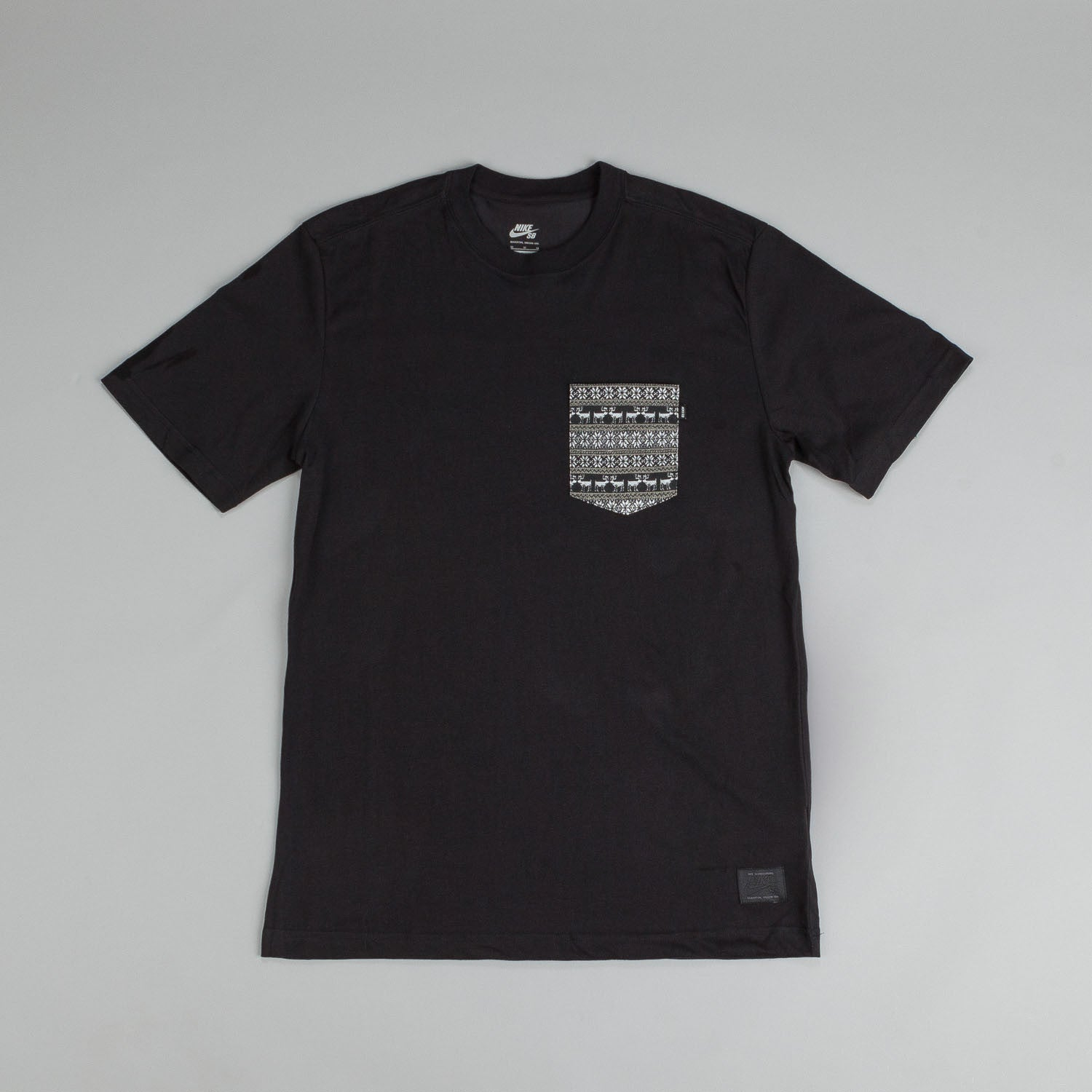 Nike SB Dri Fit Warm T Shirt Black / White