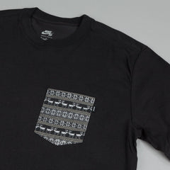 Nike SB Dri Fit Warm T Shirt Black / White - Black