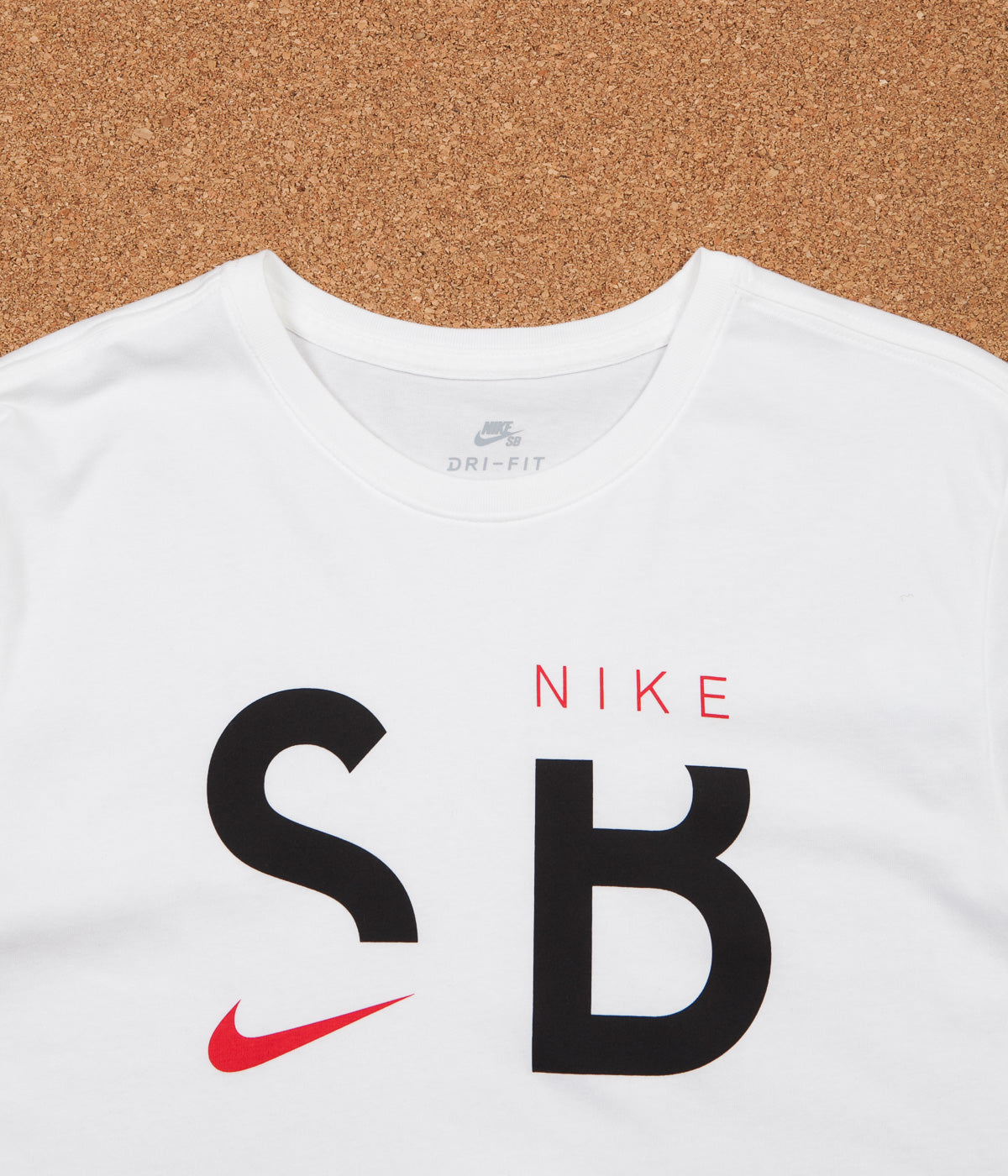 nice cheap sneakers for cheap nice shoes Nike SB Dry Long Sleeve T-Shirt - White / Black / University Red