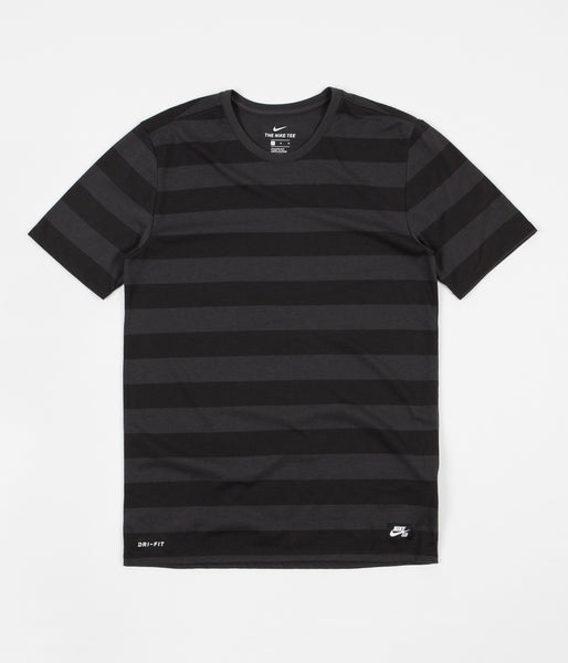 Nike SB Dry T-Shirt - Anthracite / Black