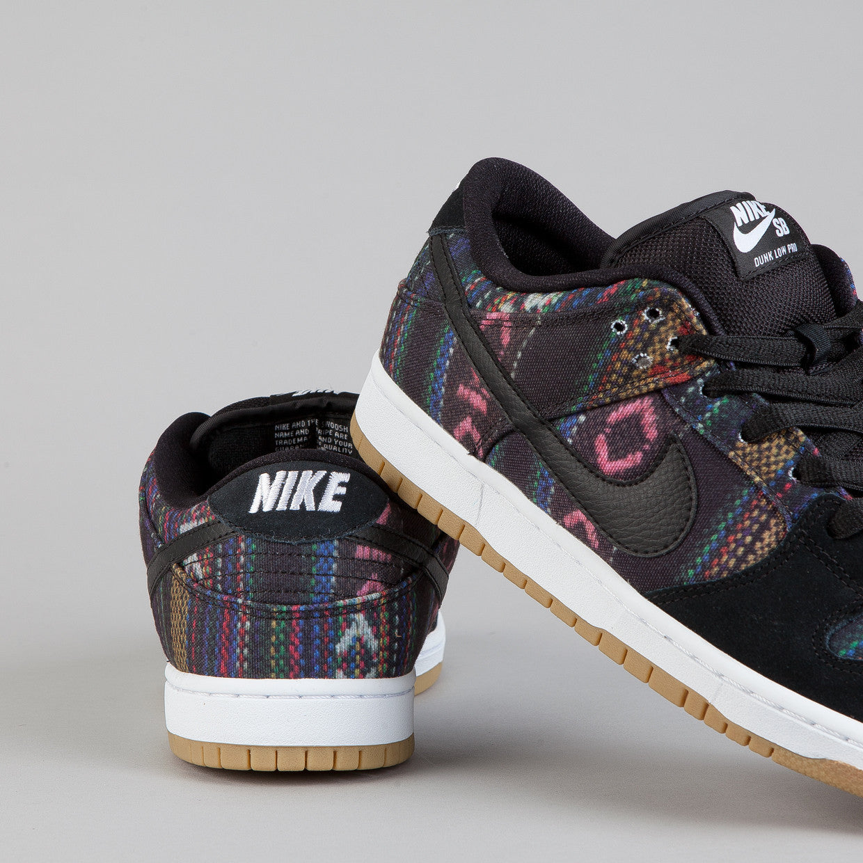 Nike Sb Dunk Low Pro (Hacky Sack) Multi-Colour / Black