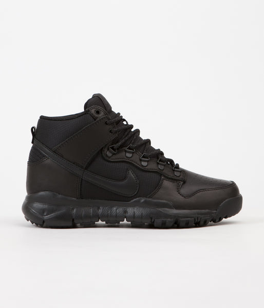 Nike SB Dunk High Boots - Black / Black - Anthracite
