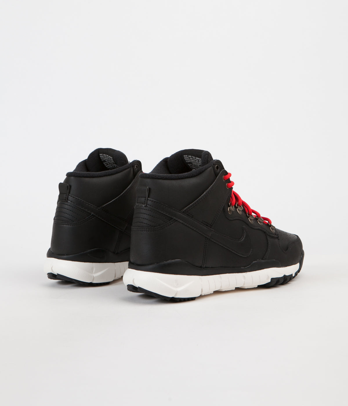 Nike SB Dunk High Boots - Black / Black - Sail - Ale Brown
