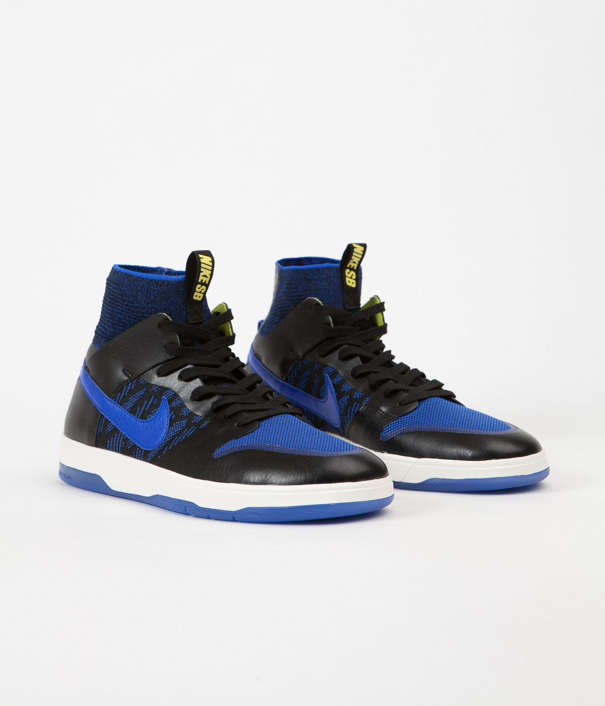 1c567570832d Nike SB Dunk High Elite QS Shoes - Black Racer Blue - Sail  Nike Sb Zoom ...