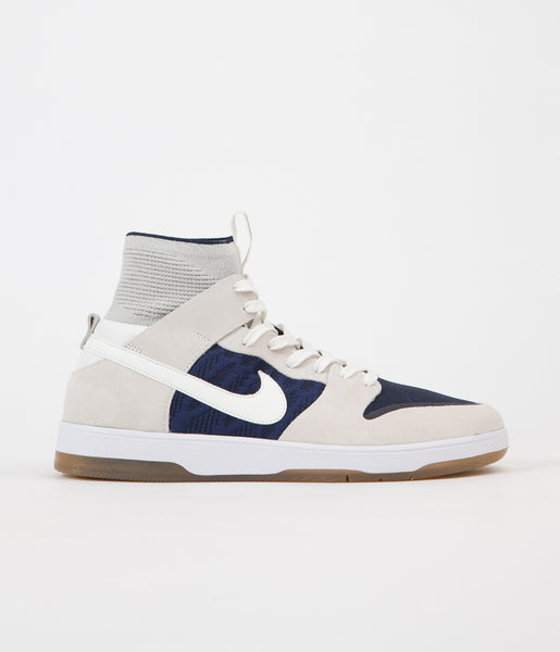 Nike SB Dunk High Elite Shoes - Sail / Sail - Binary Blue - Dark Team Red