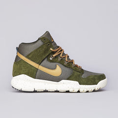 Nike ACG Dunk High OMS Light Green / Flat Gold
