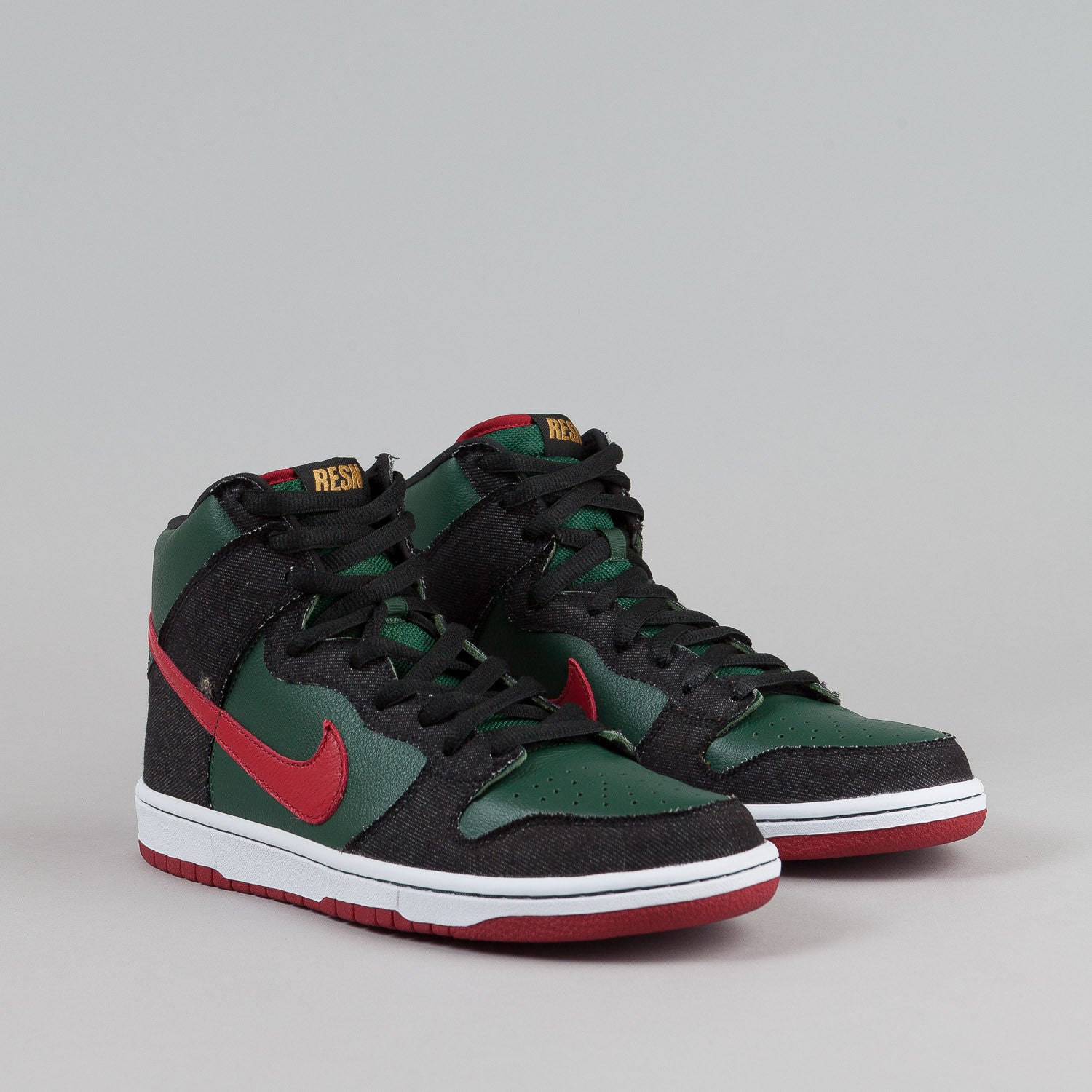 Nike SB Dunk High Premium - Deep Forest / Paprika